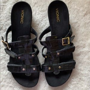 Vionic wedge sandals brand new size 12